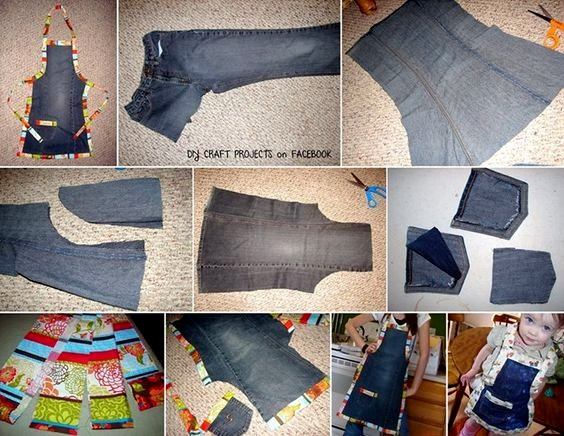 ideas for recycling jeans crochet patterns and tutorials. Black Bedroom Furniture Sets. Home Design Ideas