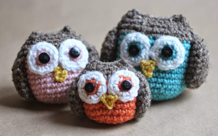 Crochet Tutorial Owl : How to make a crochet owl Crochet Patterns and Tutorials
