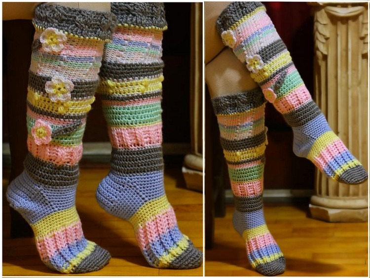 Socks crochet