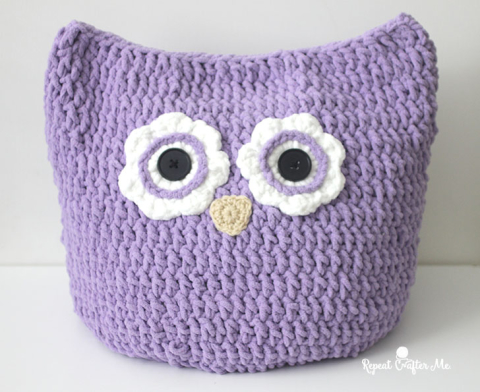 Beautiful Crochet Oversized Owl Pillow Crochet Patterns
