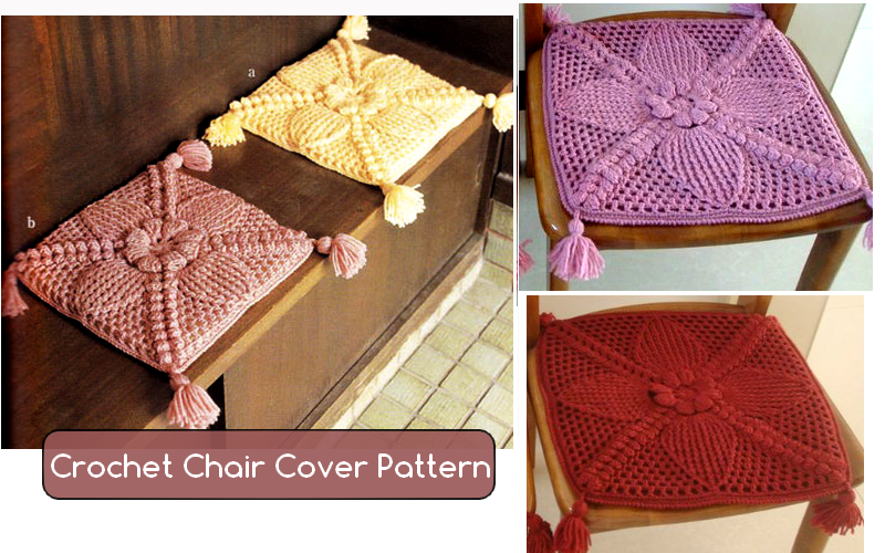 Crochet Chair Cover Pattern Crochet Patterns And Tutorials