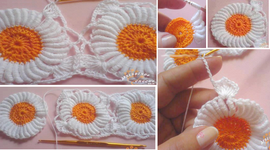 Beautiful crochet flower pattern (1)