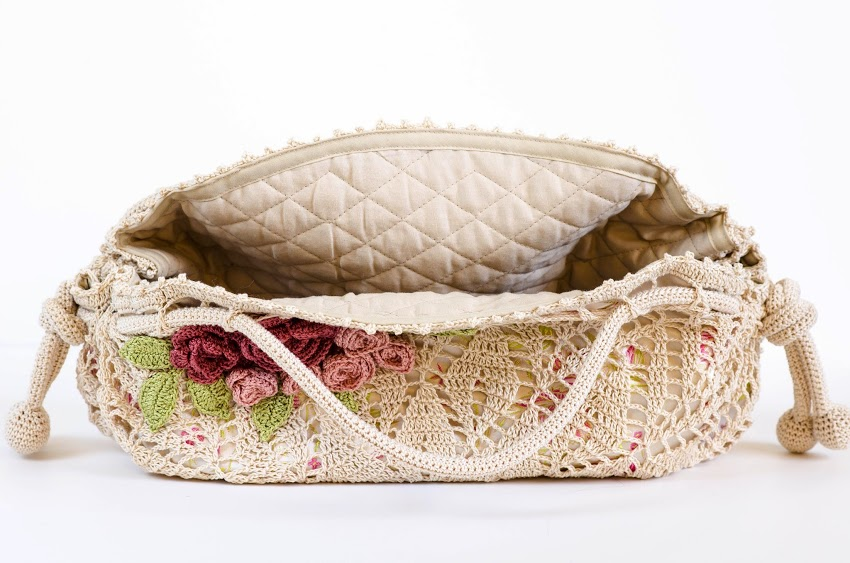 Crochet pattern of a precious bag (4)